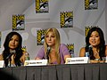 Naya Rivera, Heather Morris & Jenna Ushkowitz (4853043934).jpg