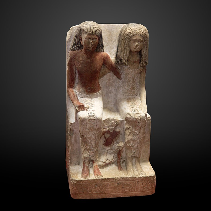 Neferhebef wife and son-A 57