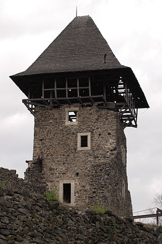 Nevytske Castle - Image: Nevitske Castle 1