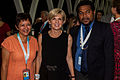New Caledonia President Cynthia Liegard, Julie Bishop and Anthony Lecren.jpg