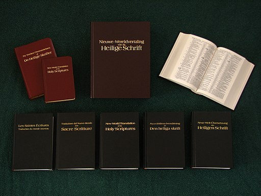 New World Translation of the Holy Scriptures in various languages and versions