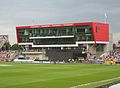 New pavilion, Old Trafford Cricket Ground, July 2013.jpg