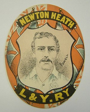 Jack Powell (footballer, born 1860) - Image: Newton Heath Jack Powell First Incarnation