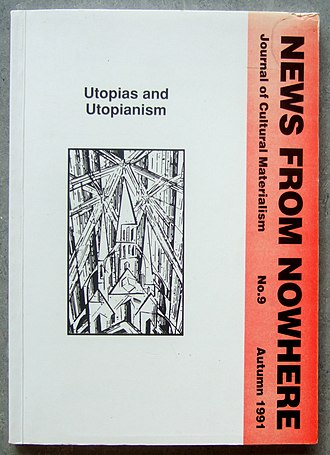 News from Nowhere: Journal of the Oxford English Faculty Opposition - News from Nowhere no 9, Utopias special issue.