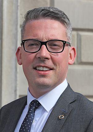Niall Ó Donnghaile - Image: Niall Ó Donnghaile (cropped)