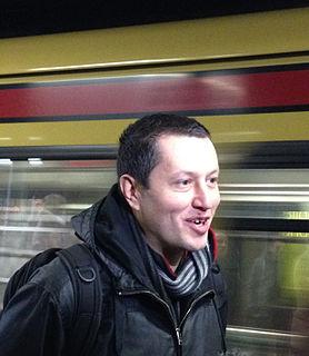 Nicolas Ancion Belgian writer