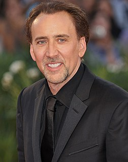 Nicolas Cage filmography Cataloging of works by the American filmmaker