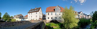 Nidda, Hesse - Image: Nidda Mühle pano 3268