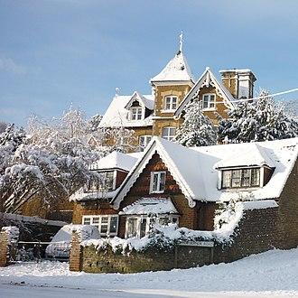 Farncombe - Houses in Nightingale Road, 2010
