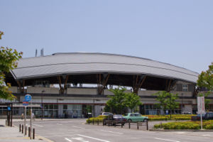 Nijō Station (Kyoto) - Nijō Station, May 2006