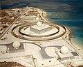 Nike Zeus tracking radars on Kwajalein in 1960s.jpg