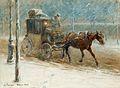 Nils Kreuger-Vintrig boulevardscen med hästdroska.jpg