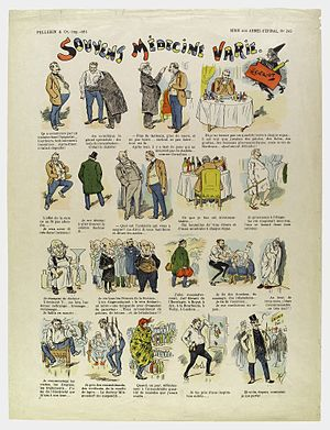 Nineteen scenes depicting popular disillusionment with Wellcome L0035208.jpg