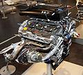 Nissan VQ30DETT engine rear Nissan Engine Museum.jpg
