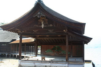 Noh - World's oldest Noh stage at Miyajima