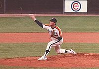 Nolan Ryan als Pitcher der Houston Astros