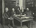 Nordisk familjeboks redaktionskommitté, 1903.jpg