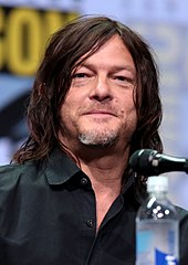 Norman Reedus looking to the front