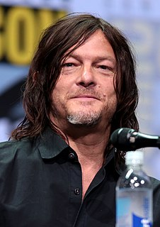 Norman Reedus American actor and model