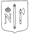 Norrköpings andra vapen, Nordisk familjebok.png