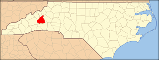 National Register of Historic Places listings in McDowell County, North Carolina Wikimedia list article