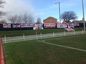 North Shields F.C. - The Ultras display of flags