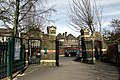 North entrance to the Margravine Cemetery in London, spring 2013 (1).JPG