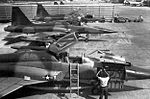 Northop F-5Cs in a revetment in Vietnam, circa 1966.jpg