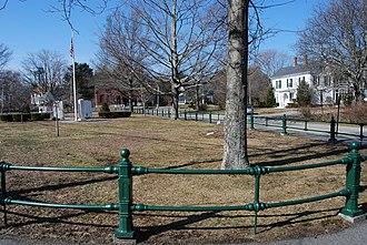 Norton, Massachusetts - Norton Town Common