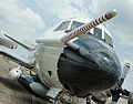 "Nose of NOAA Lockheed WP-3D Orion ""Hurricane Hunter"" (N42RF) at SENEX Air Quality-Climate Research Study (9119691394).jpg"