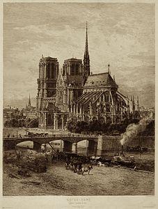 Notre-Dame - Eglise Cathédrale de Paris 2