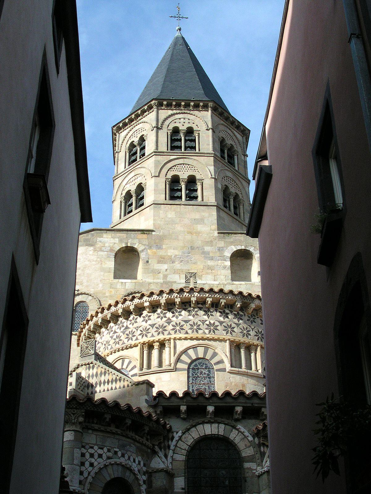 Basilique notre dame du port clermont ferrand wikimedia commons - Basilique notre dame du port ...