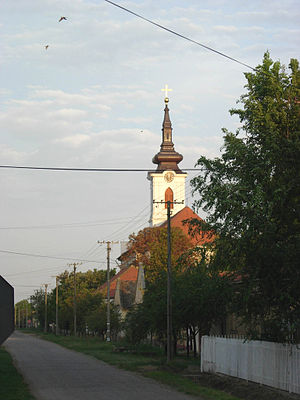 Novo Miloševo - The Orthodox Church