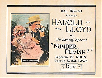 Number, Please? - Lobby card for the film
