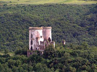 Czerwonogród - The ruins of Chervonohorod Castle.