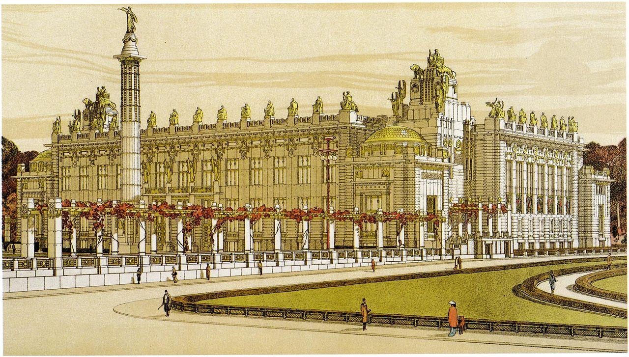Alternate unbuilt classical architecture page 5 Palace design