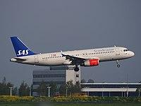 OY-KAW - A320 - SAS