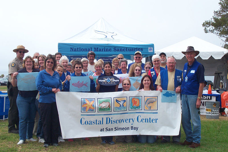 Ocean%27s Fair at the Coastal Discovery Center, San Simeon 2008.jpg
