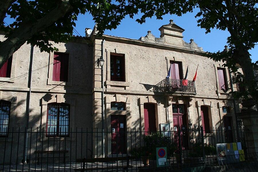 Octon (Hérault) - mairie.