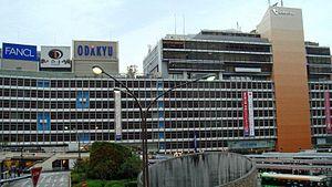 Shinjuku Station - West exit of Odakyu Shinjuku Station