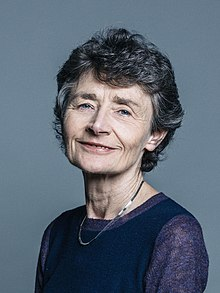 Official portrait of Baroness Morris of Yardley crop 2.jpg