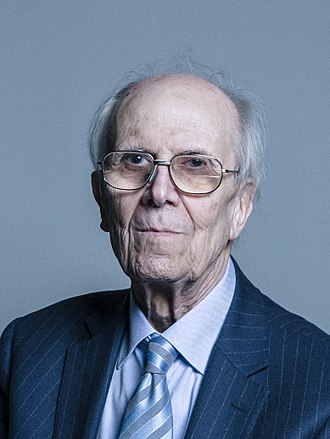 Secretary of State for Business, Energy and Industrial Strategy - Image: Official portrait of Lord Tebbit crop 2