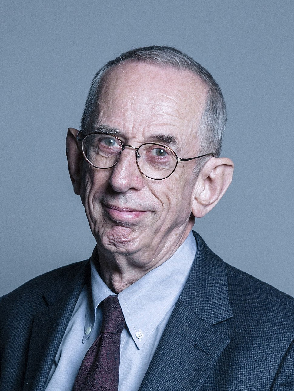Official portrait of Lord Wilson of Dinton crop 2