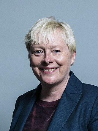 Labour Party (UK) deputy leadership election, 2015 - Image: Official portrait of Ms Angela Eagle
