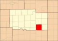 Ogle County Illinois Map Highlighting Flagg Township.png