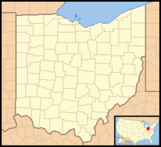Ohio Locator Map with US