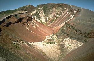 Mount Tarawera - Fissure formed during 1886 Tarawera eruption