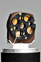 Inside the Oktava 319 condenser microphone.