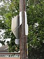Old Jefferson LA Two Vertical Street Name Signs on Pole Oct 2017.jpg