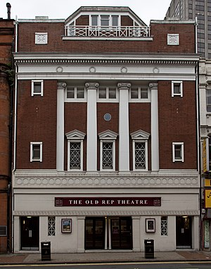 Birmingham Repertory Theatre - The Old Rep – The Rep's home from 1913 until 1971.
